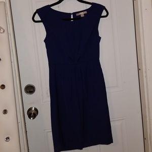Royal blue sheath dress
